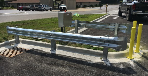 guard rails bollards